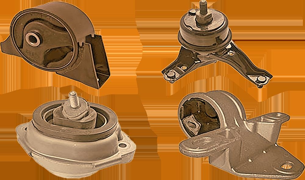 Замена подвески двигателя